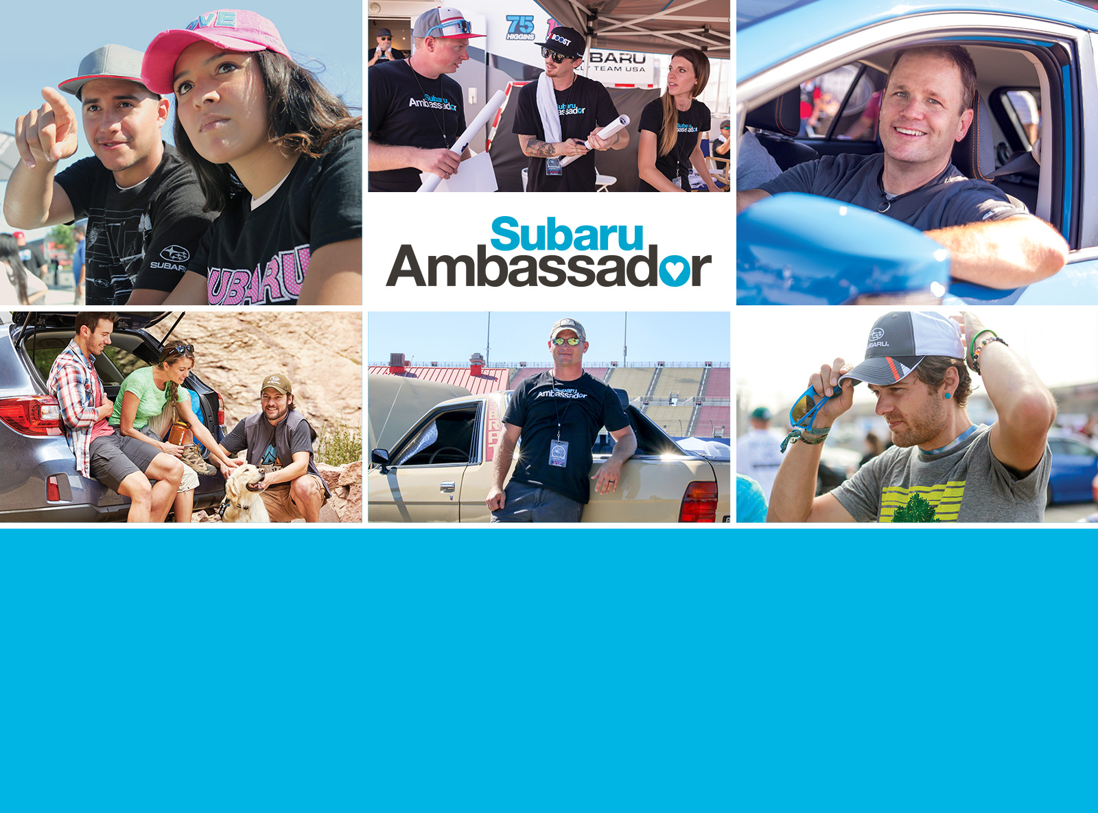 Share your Love for Subaru! Become a Subaru Ambassasor